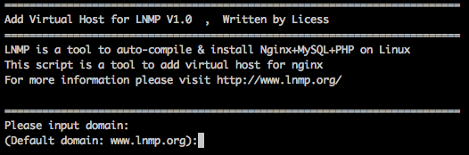 LNMP环境下添加、大发快3删除 虚拟主机的教程